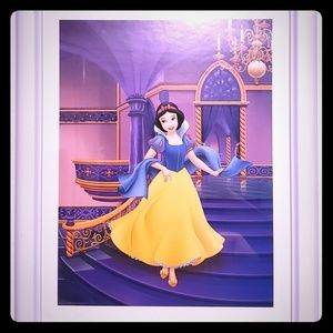 11x14 Snow White Framed Picture
